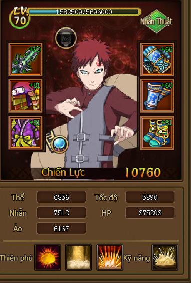 Webgame Naruto Truyền Kỳ (HOT HOT) 210