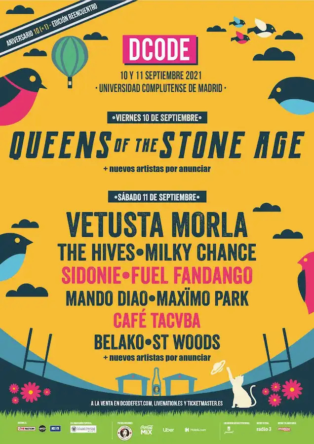DCODE 2021: Queens of the Stone Age, Vetusta Morla, The Hives, Mando Diao, Maximo Park Dcode-10