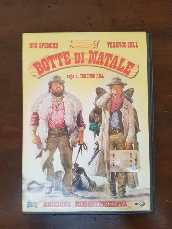 DVD Botte di Natale con Bud Spencer e Terence Hill 20190410