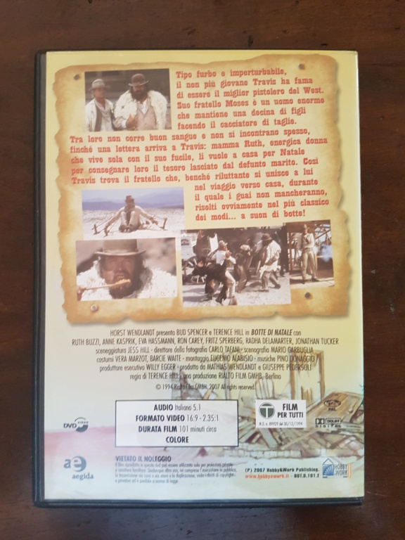DVD Botte di Natale con Bud Spencer e Terence Hill 20190411