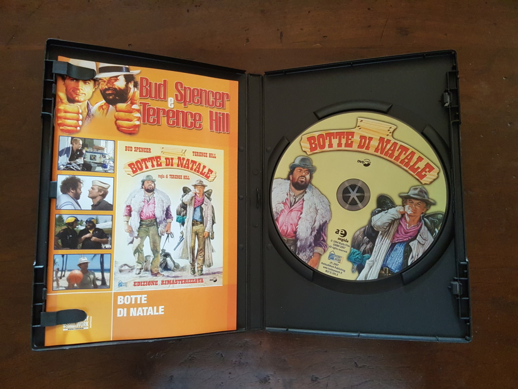 DVD Botte di Natale con Bud Spencer e Terence Hill 20190412