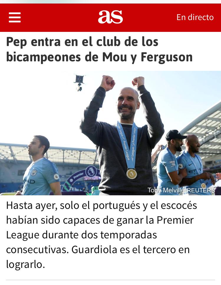 Pep Guardiola firma la mejor temporada de la historia del fútbol inglés pero en la shempions... - Página 7 76ee5910