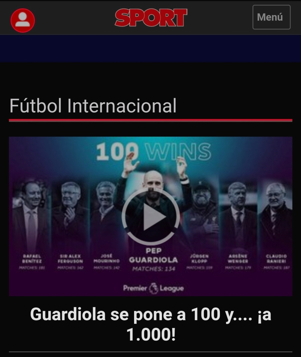 Pep Guardiola: Winter is Coming. A veintidó, veintidó, veintidó del líder de la Premier. La Premier Screen37