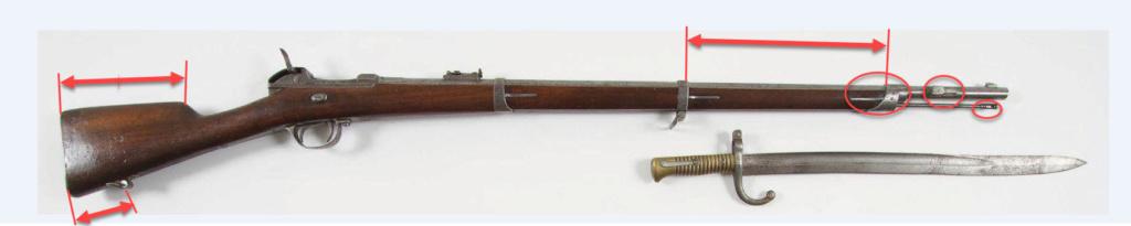 Identification fusil de la défense nationale 1870-1871 2019-014