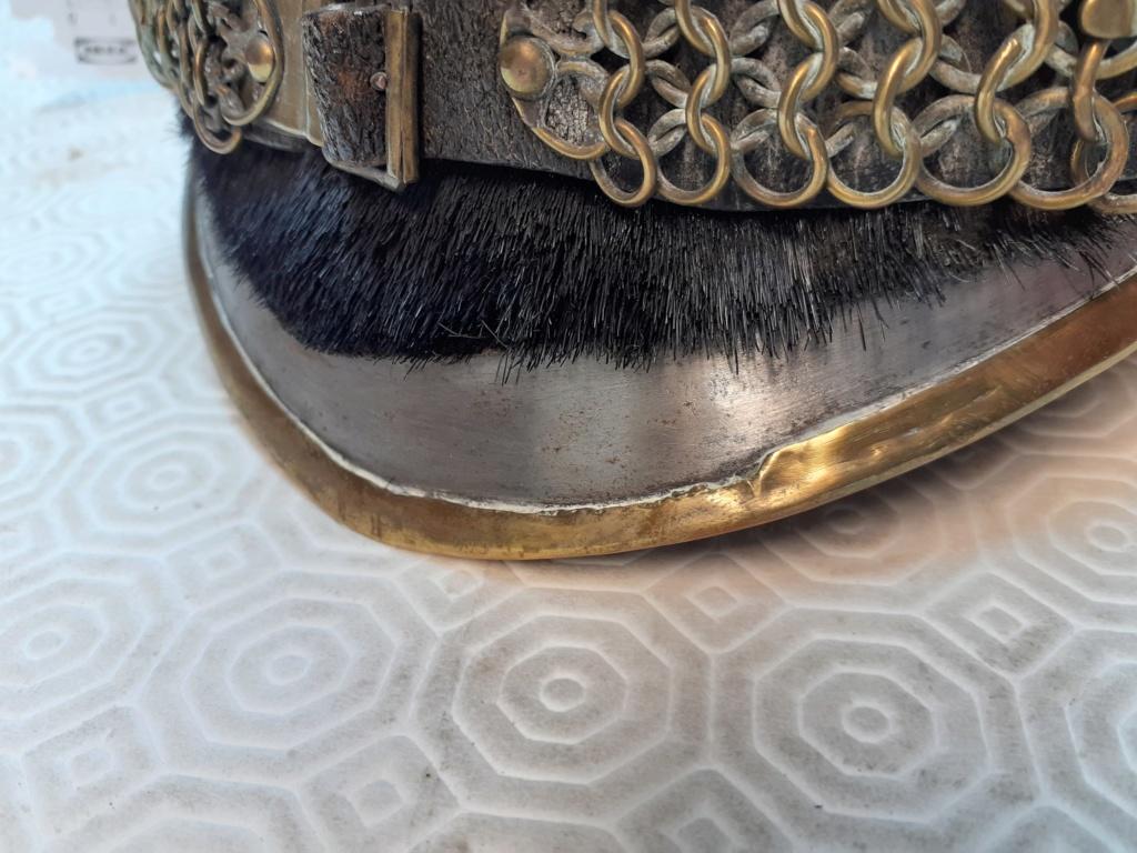 Estimation casque de cuirassier 1845 20191117