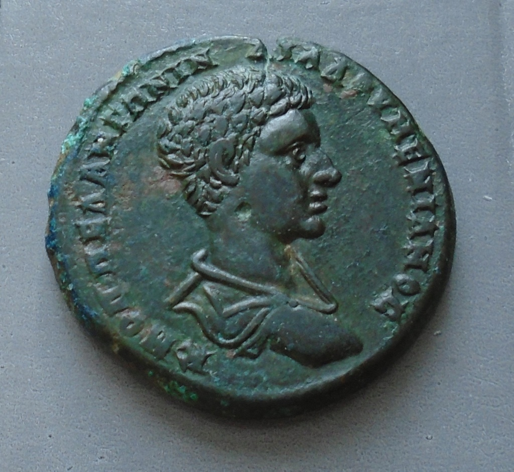 Bronze Diaduménien provinciale romaine Diadum10