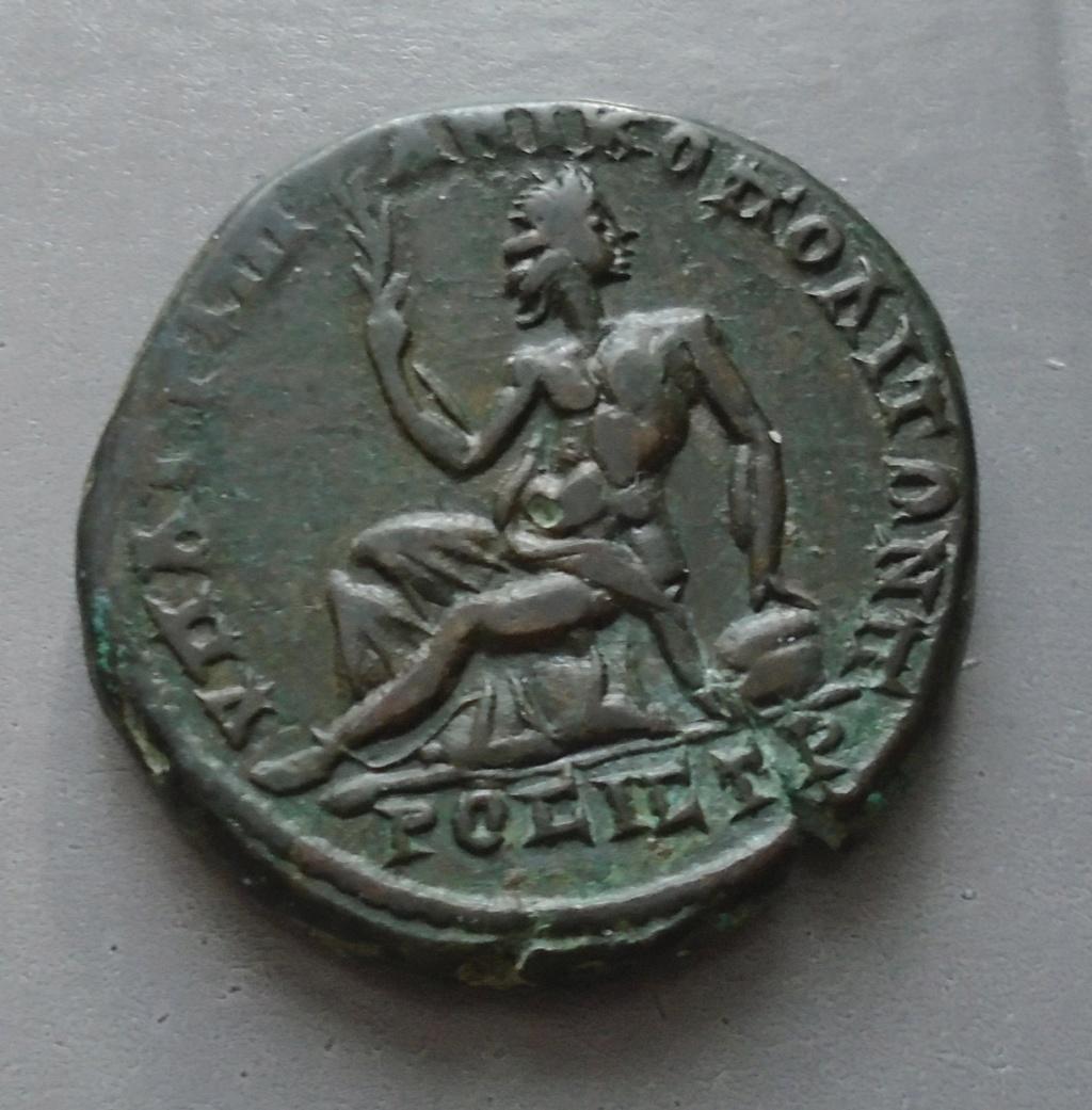 Bronze Diaduménien provinciale romaine Diadum11