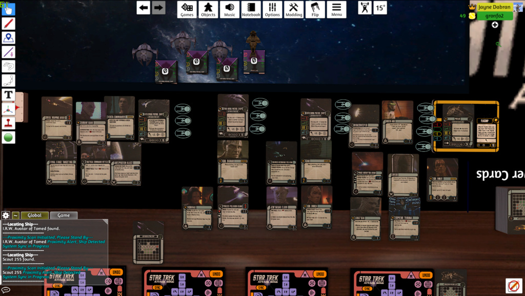 Borg {The Bord King} vs. Dominion {Jayne Dabran} Aufste10