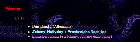 Les TV de Johnny Hallyday 0410