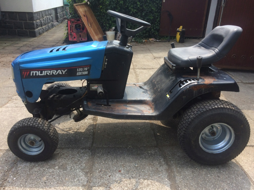 Murray Widebody Lawn Tractor  - Page 2 20180112