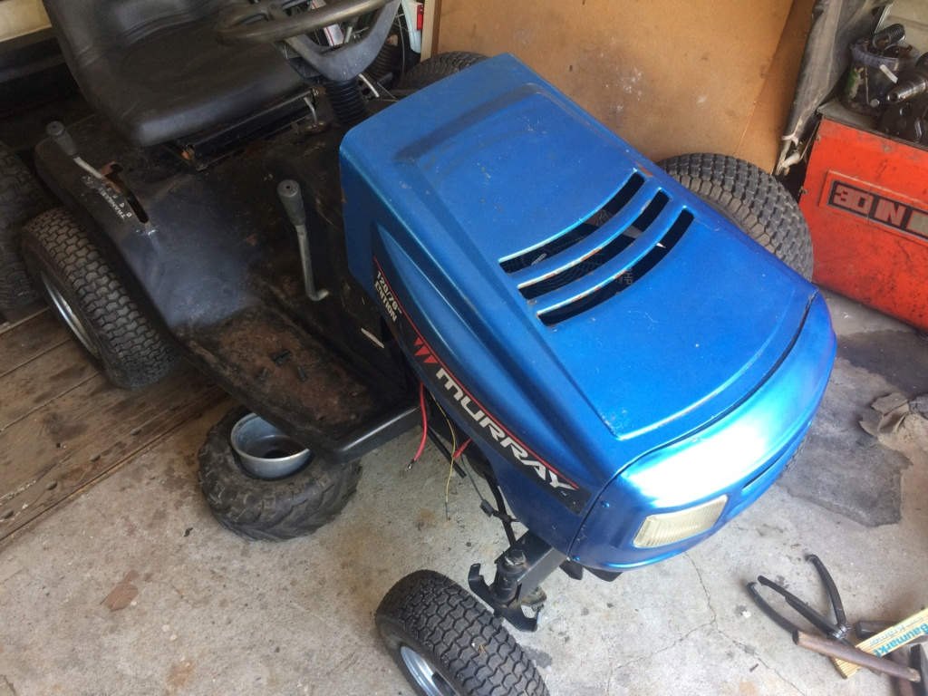 tractor - Murray Widebody Lawn Tractor  - Page 2 20180116