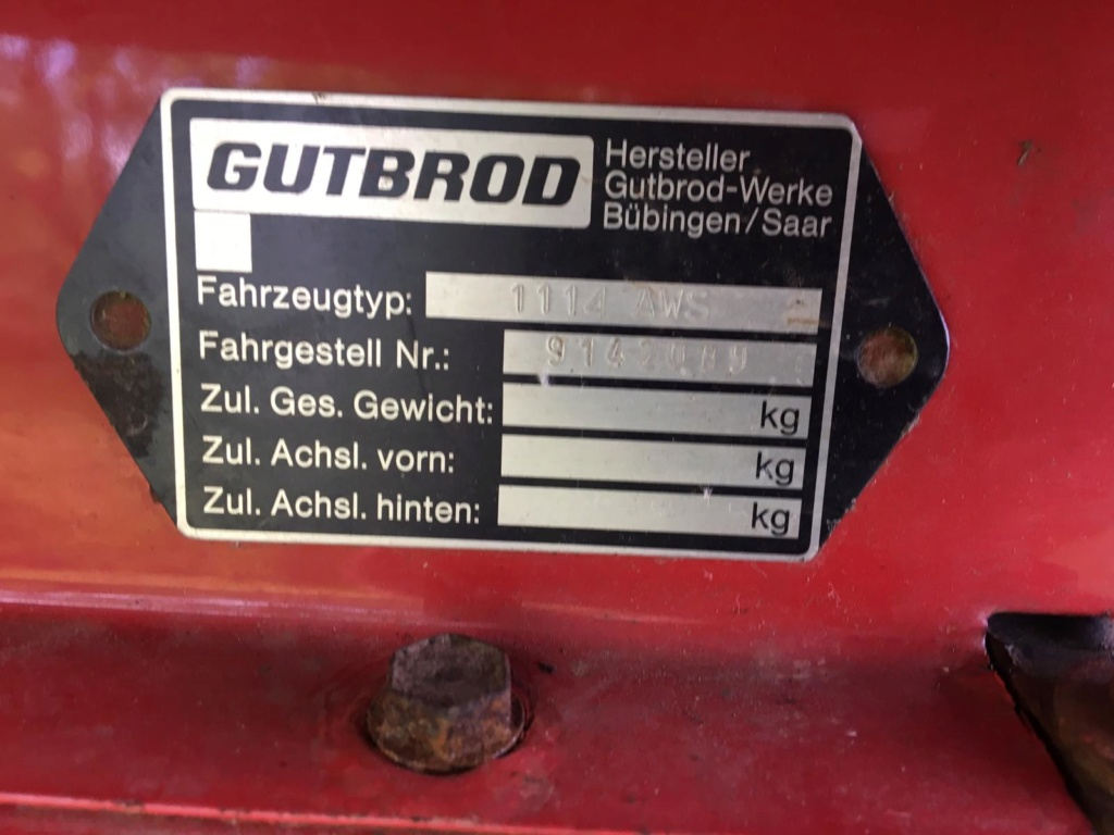 Modded Gutbrod 1114 AWS Dynamark-based Mower Whats333