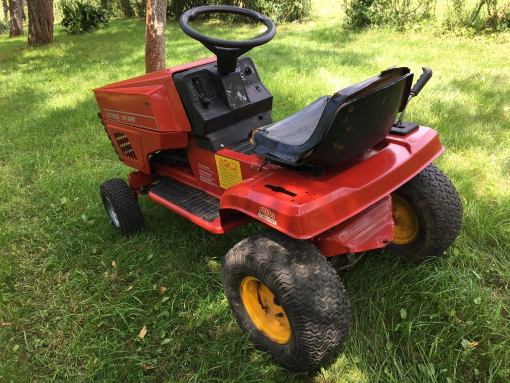 Modded Gutbrod 1114 AWS Dynamark-based Mower Whats334