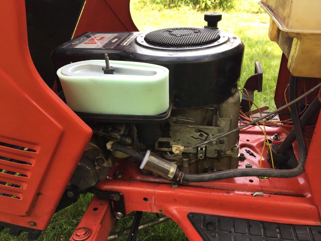 Modded Gutbrod 1114 AWS Dynamark-based Mower Whats336