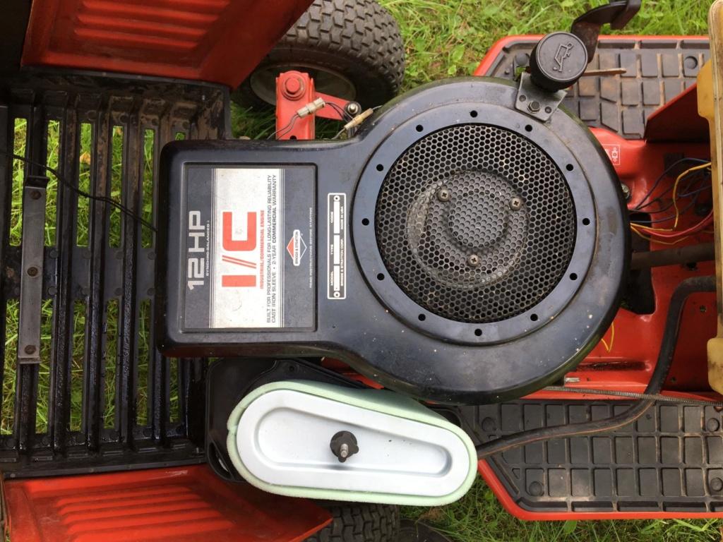 Modded Gutbrod 1114 AWS Dynamark-based Mower Whats337