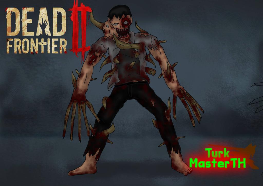 "TurkMaster Work:งานรูปวาดคาแรคเตอร์""DeadFrontier 2 Zombie Concept art"" Turk_s10"