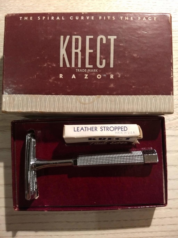 Rasoir Krect Spiral Curve Krect411