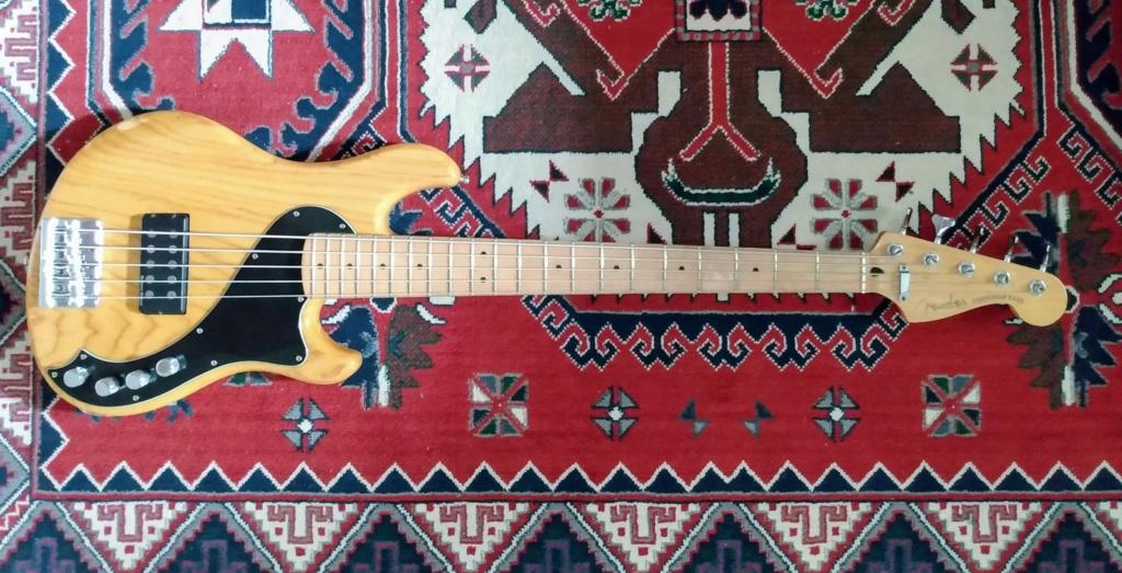 Vendido - Fender Dimension Bass V MIM(2013) com captação e circuito Seymour Duncan Img_2042
