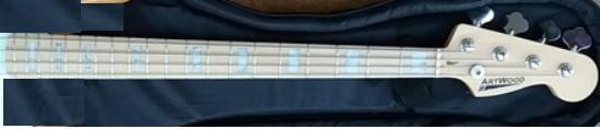 Corpo do PB nascendo, tomando forma. Luthier Clayton Oliveira Brazo11