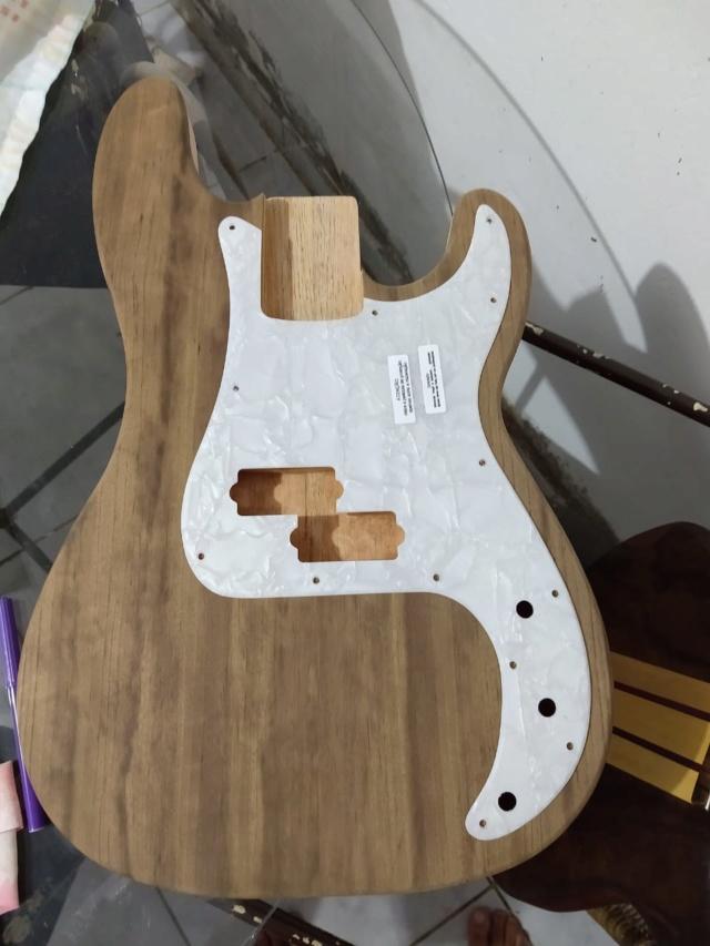 Corpo do PB nascendo, tomando forma. Luthier Clayton Oliveira Whatsa10