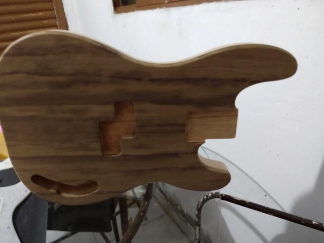 Corpo do PB nascendo, tomando forma. Luthier Clayton Oliveira Whatsa13