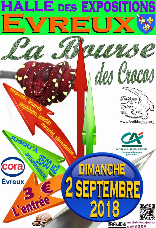 Bourse aux reptiles 2 septembre à Évreux  37320210