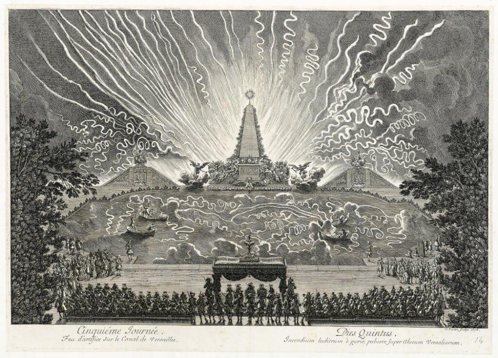Versailles ou le Soleil à la fête Feu-da10