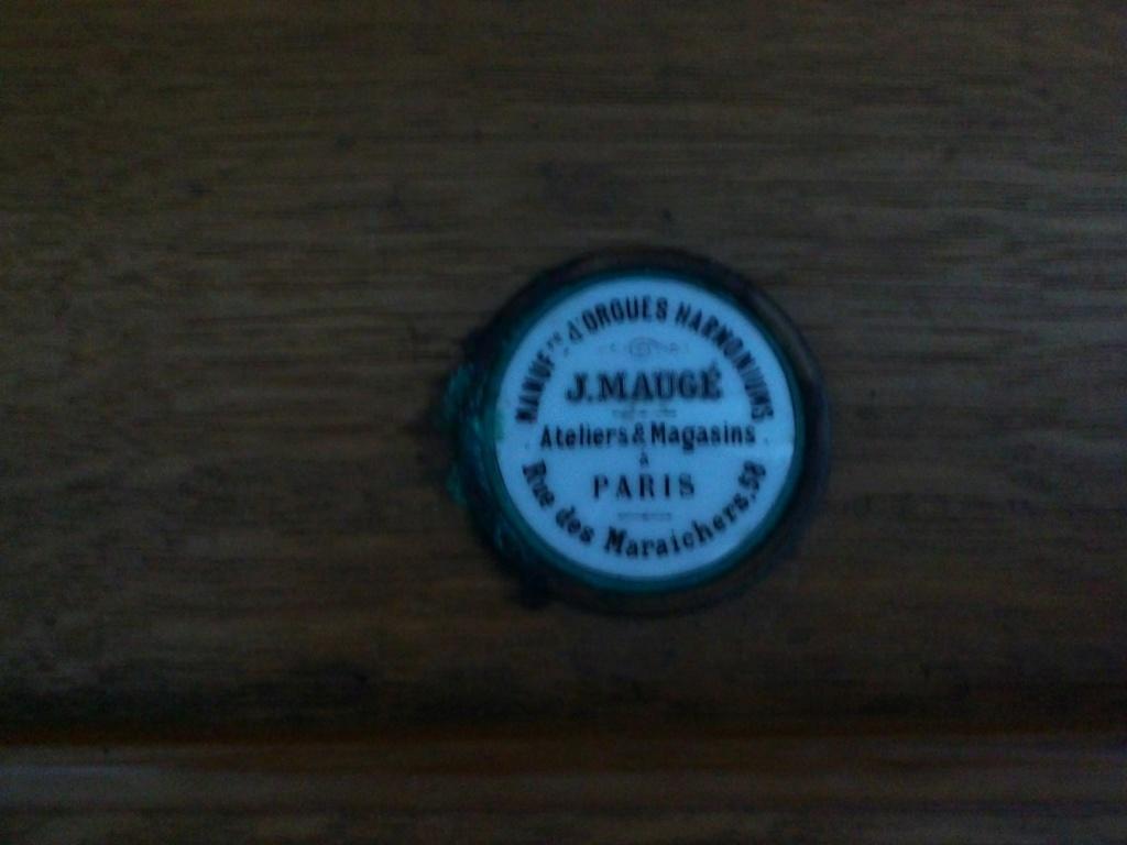 Harmonium J.Maugé Cam00811