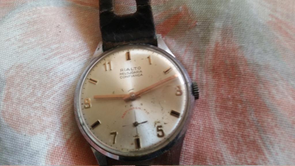 Relogio Rialto Relojoaria Confianca - Informação? 15530111