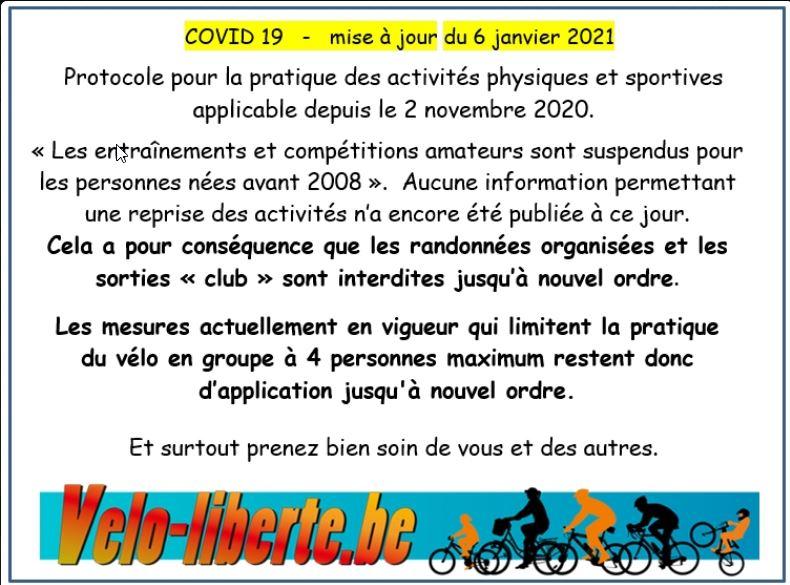 Règles COVID en vigueur et option de traçage GPS par groupe ? 2021-011