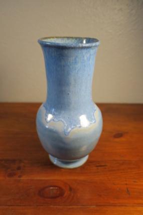 Pottery Vase with Fulper Type Glaze Img_4111