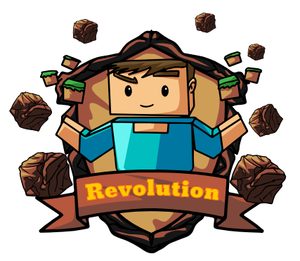 Minecraft Revolution Logo10