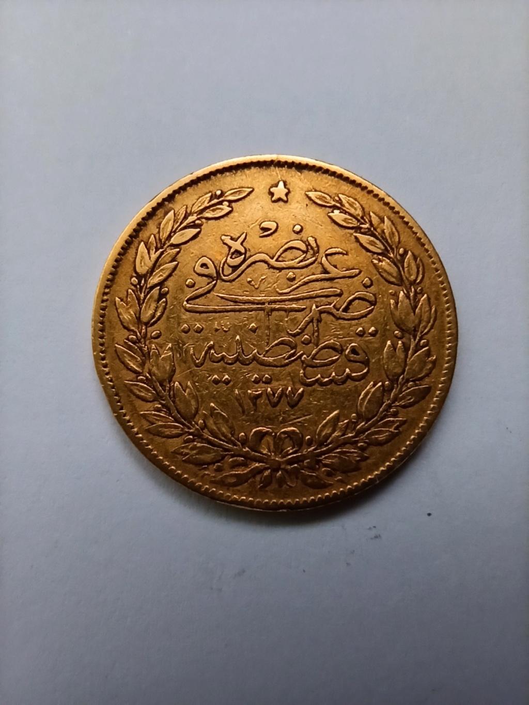 100 Kurus de 1863. Imperio Otomano. Sultán Abdul Aziz. Img_2019