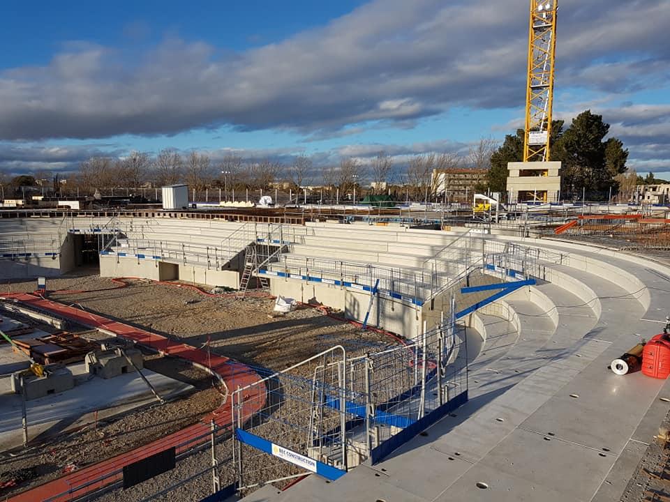 La nouvelle salle du Narbonne Volley 1_sall10