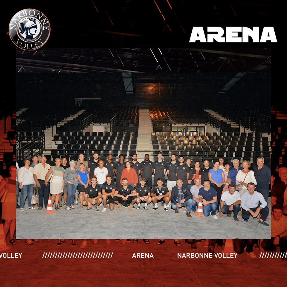 La nouvelle salle du Narbonne Volley - Page 3 70400410