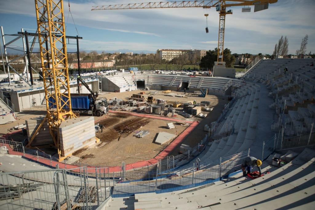 La nouvelle salle du Narbonne Volley Arena10