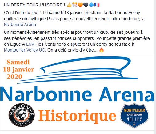 La nouvelle salle du Narbonne Volley - Page 2 Arena10