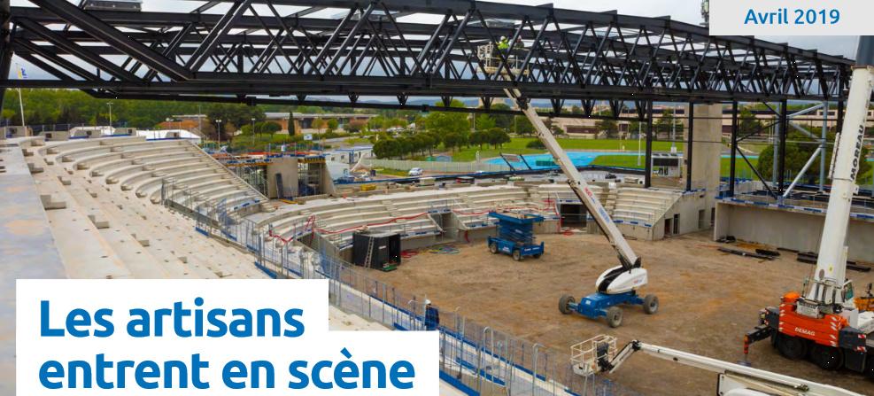La nouvelle salle du Narbonne Volley Arena11