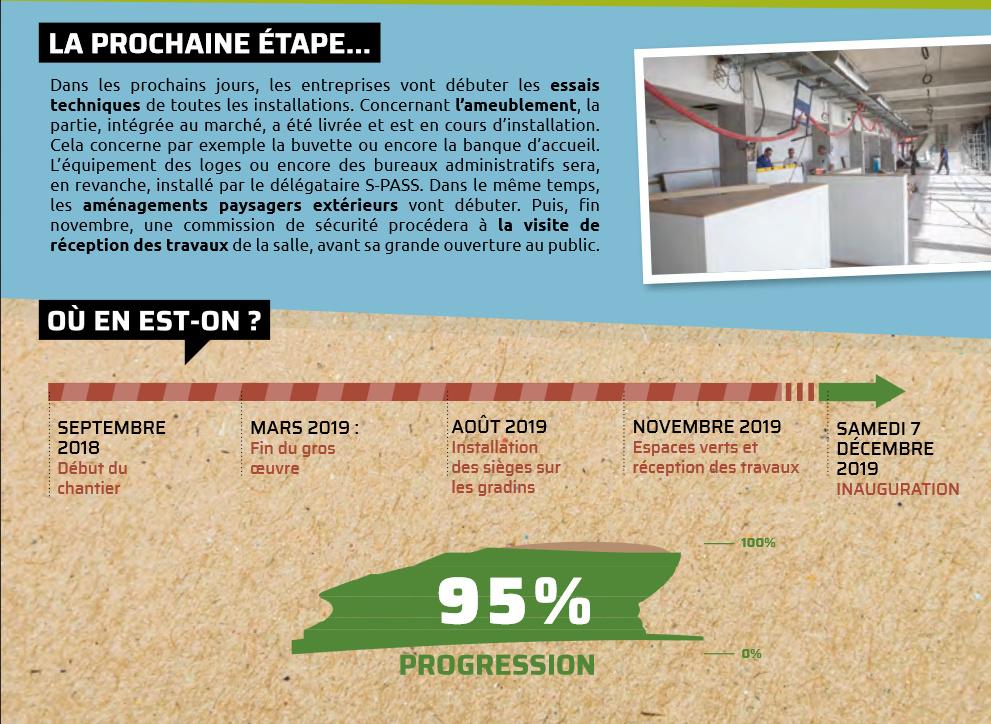 La nouvelle salle du Narbonne Volley - Page 3 Arena210