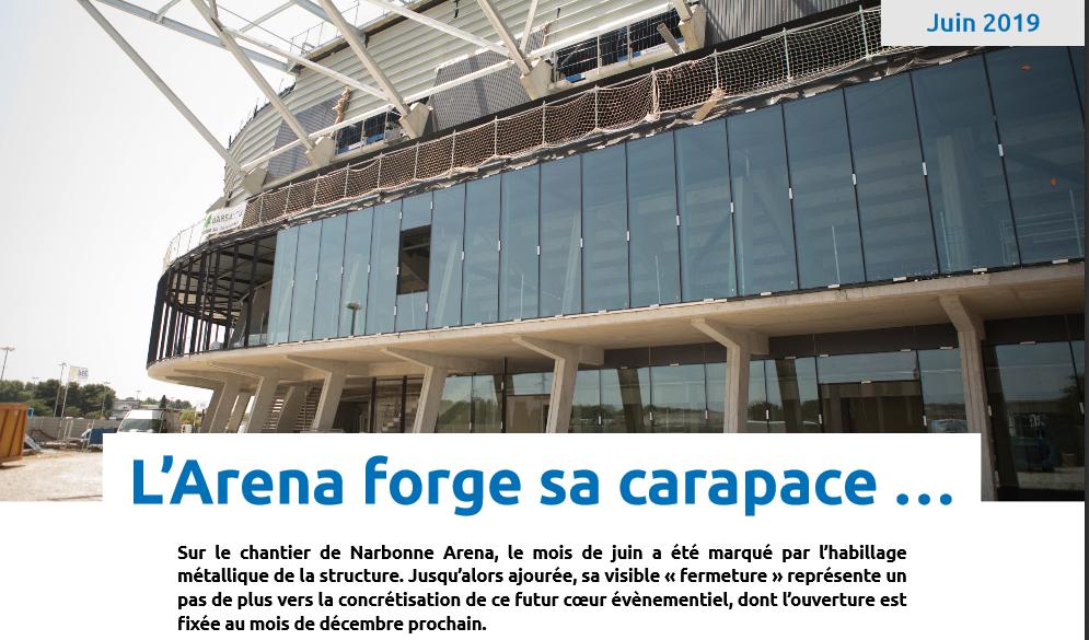 La nouvelle salle du Narbonne Volley - Page 2 Arena_10