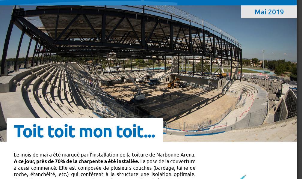 La nouvelle salle du Narbonne Volley - Page 2 Arena_11