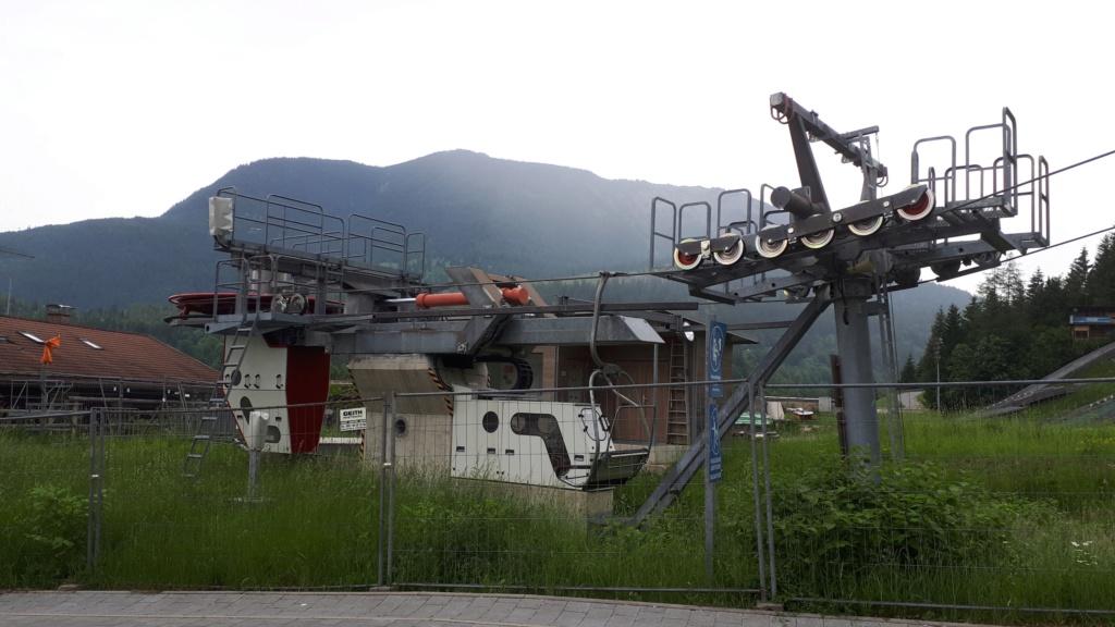 Télésiège Fixe 2 places (TSF2) / 2er Sesselbahn Gudibergbahn  20190630