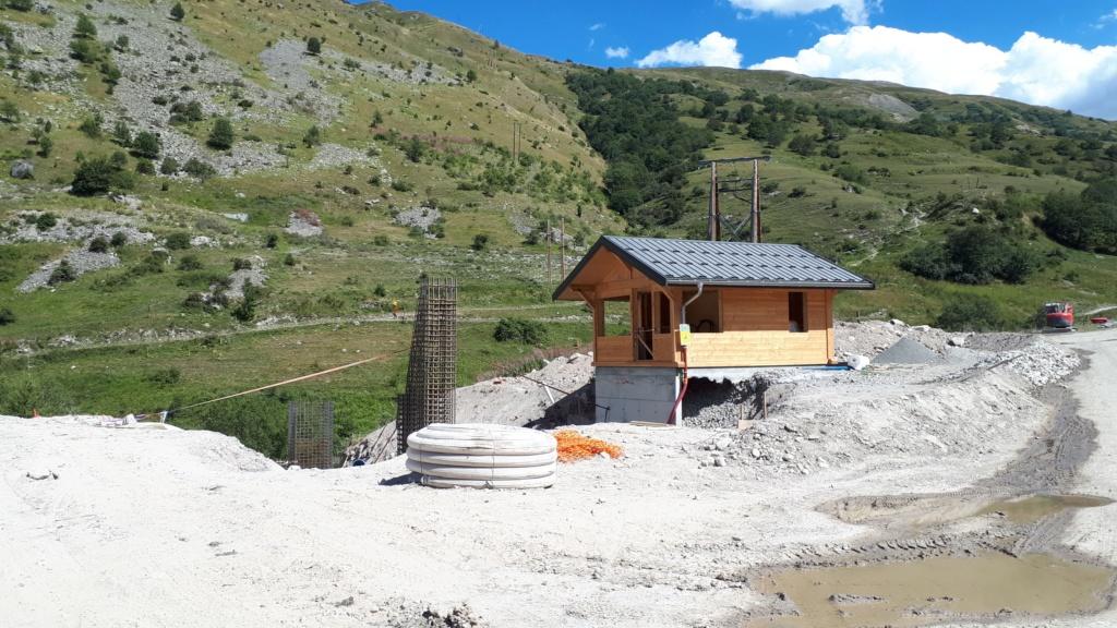 Construction du télésiège débrayable (TSD6) Montissot - Valloire 20190813