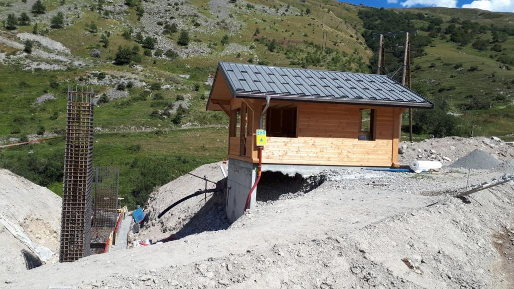 Construction du télésiège débrayable (TSD6) Montissot - Valloire 20190814