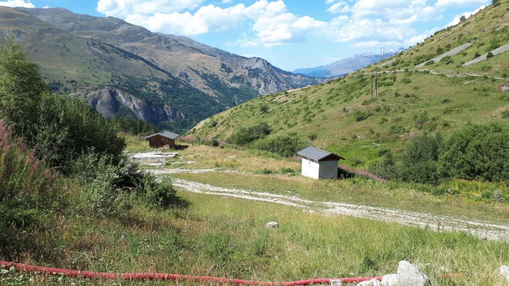 Construction du télésiège débrayable (TSD6) Montissot - Valloire 20190817