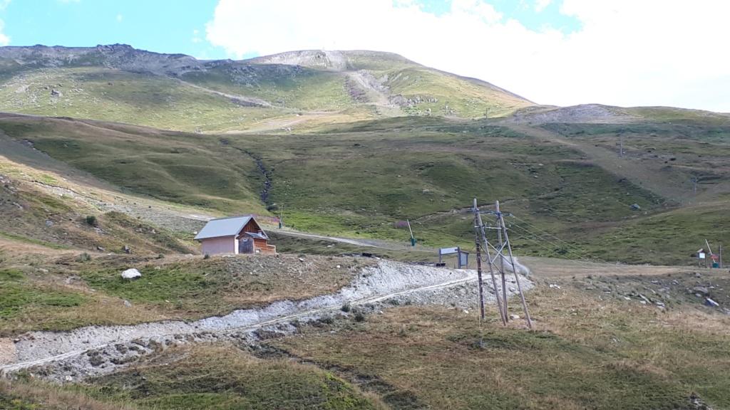 Construction du télésiège débrayable (TSD6) Montissot - Valloire 20190821