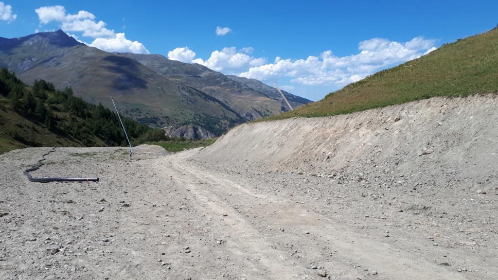 Construction du télésiège débrayable (TSD6) Montissot - Valloire 20190822