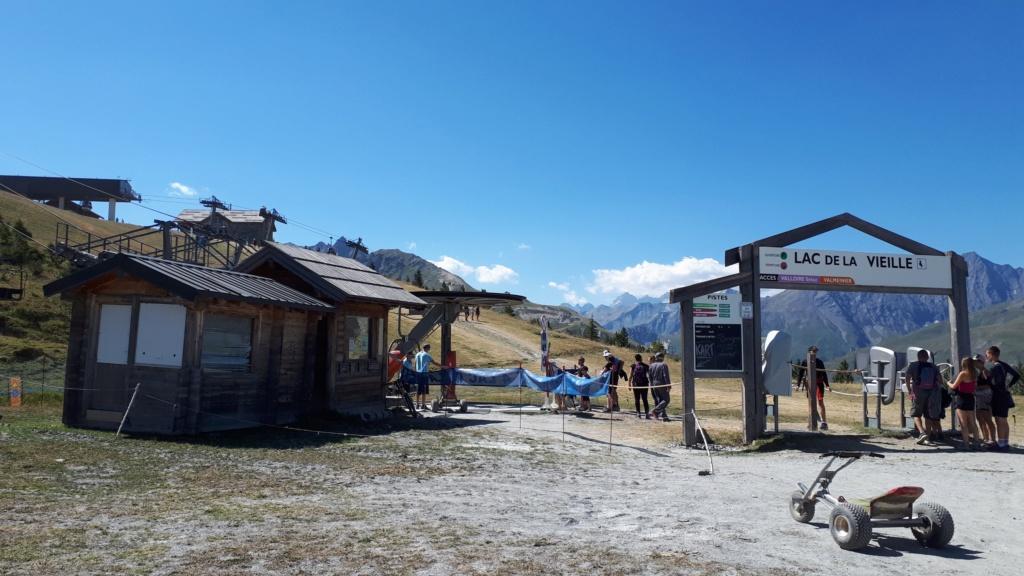 Télésiège Fixe 4 places (TSF4) Lac de la Vieille 20190845