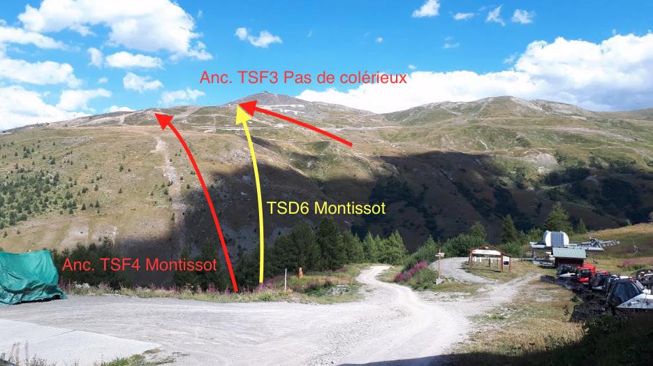 Construction du télésiège débrayable (TSD6) Montissot - Valloire Captur53