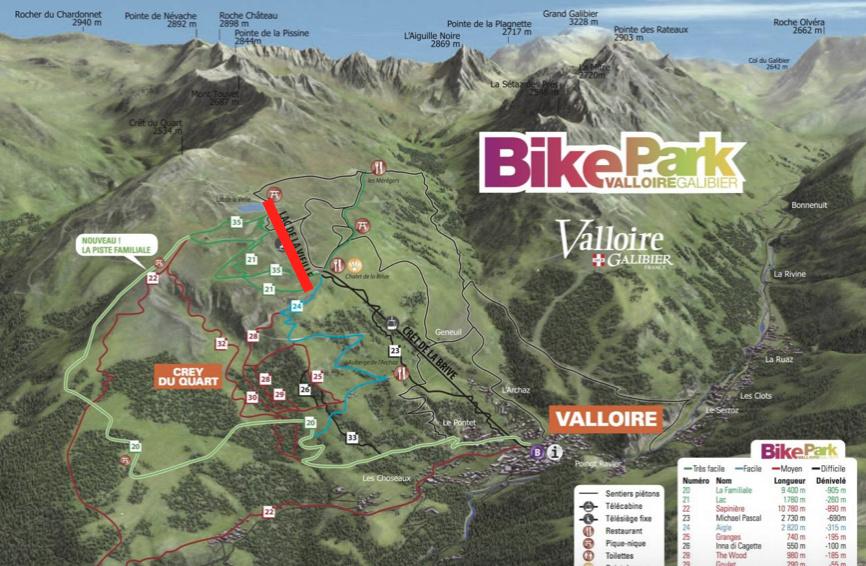 Télésiège Fixe 4 places (TSF4) Lac de la Vieille Captur57